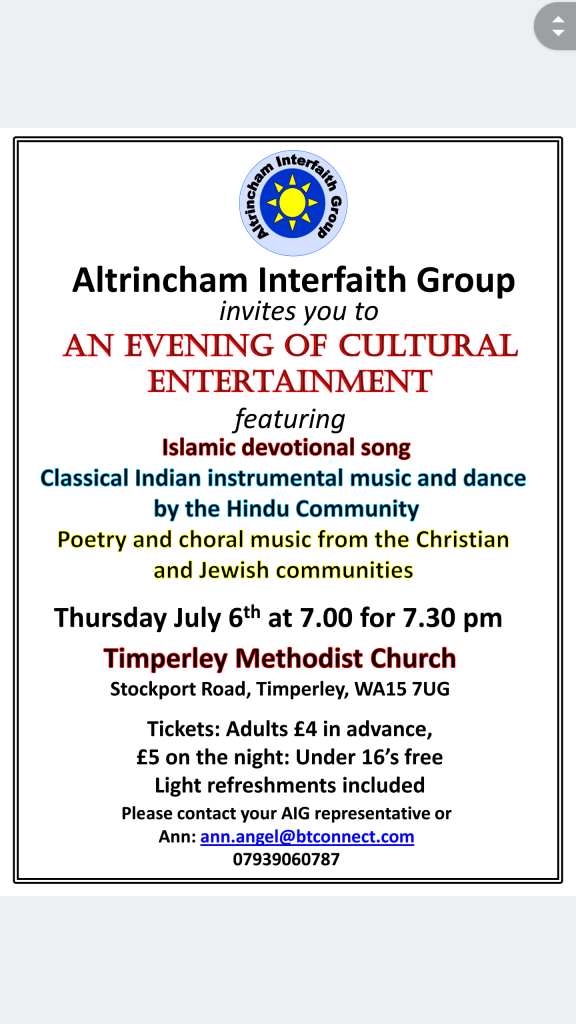 An Evening of Cultural Evening